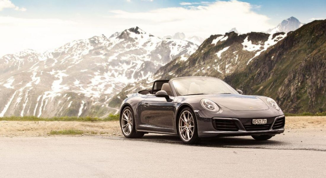 AUCTION NEWS – Luxury Supercar Driving Tour – 3 Night Swiss Alps in Porsche 911