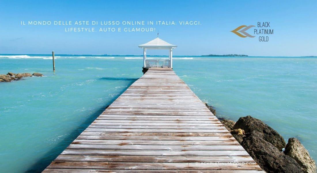 Il mondo delle aste di lusso online in Italia: viaggi, lifestyle, auto e glamour!