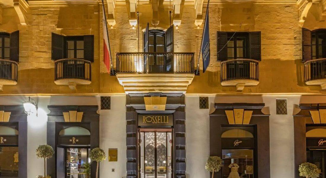 AUCTION NEWS – Valletta, World Heritage Site – 2 Nights at Rosselli Malta & 1 Michelin Star Dinner